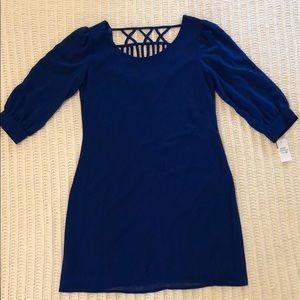 Body central long sleeve dress
